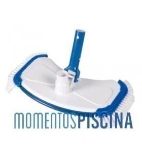 Limpiafondos manual con cepillos laterales