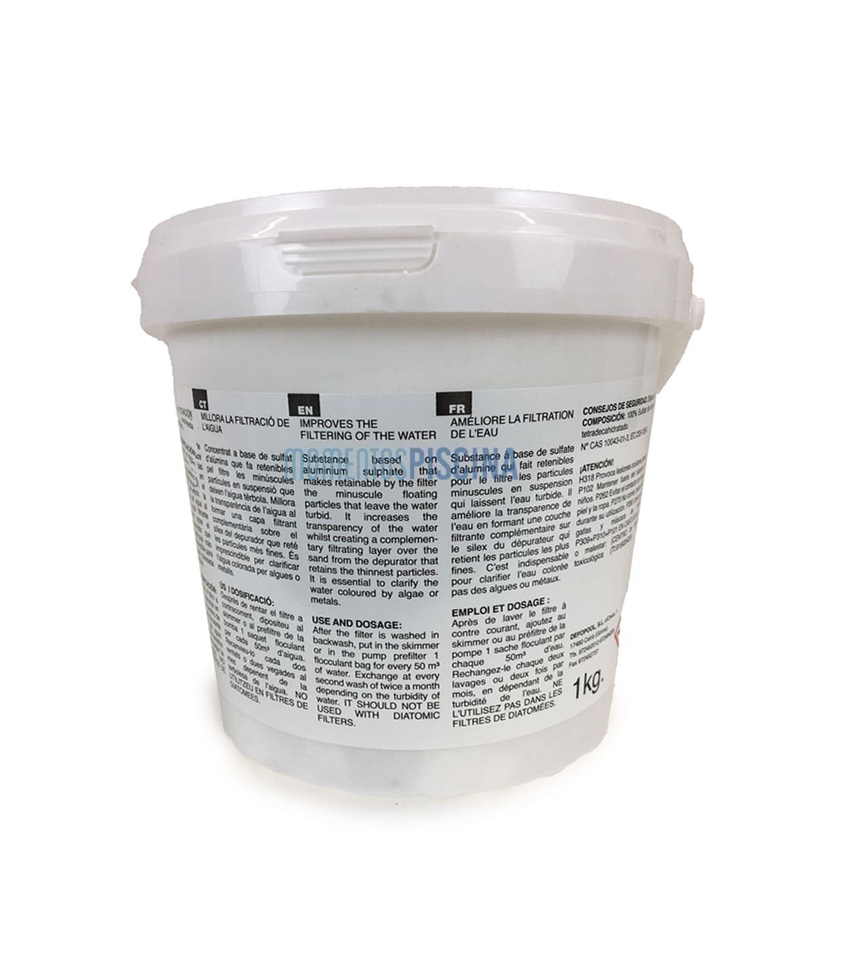 Deniseonuk Multi-Function Detection 5-in-1 Swimming Pool Test Paper Total Hardness Chlorine Ph Total Alkali Free Bromine Free Chlorine