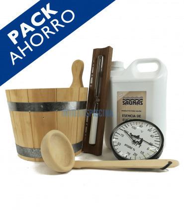 PACK para sauna completo