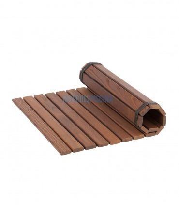 Suelo sauna madera térmica
