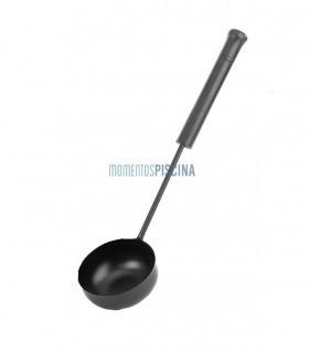 Black powder sauna ladle