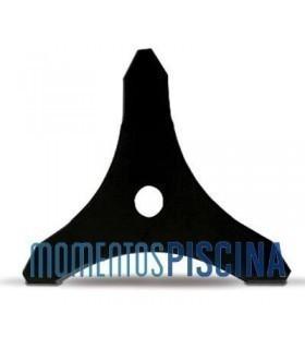 Disco metálico de 3 puntas Honda B3/255/3/25.4