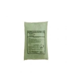 Vidrio Eco Filtrante Grado 1 25kg