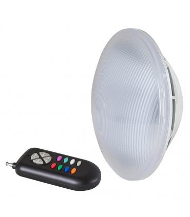 Lâmpada de piscina RGB LED PAR56 + controlo