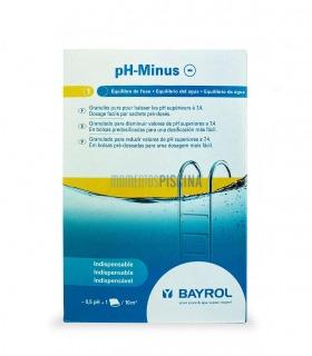 Reductor pH-Minus en bolsas BAYROL