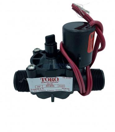"""Solenoid TORO irrigation 3/4"""" BSP"""