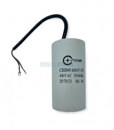 Capacitor 40 mf PSH ND.1 e ND.2