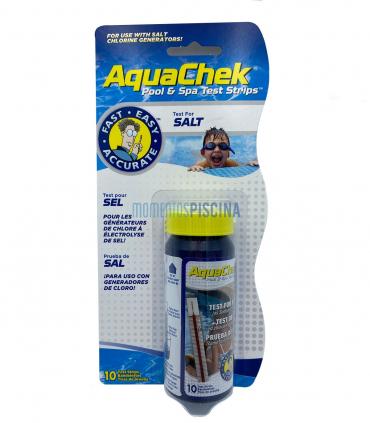 Salt test strips Aquacheck