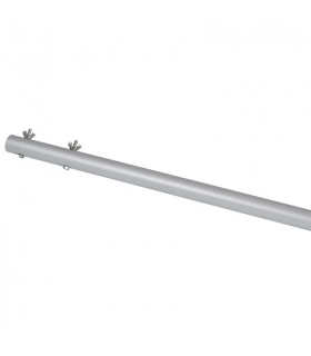 Handle fixed aluminum 2,5 m wing nut