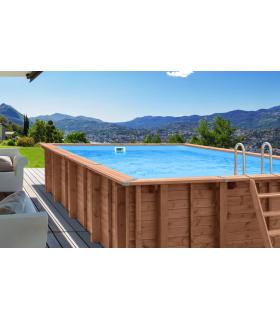 Legno fuori terra piscina Summer Oasis