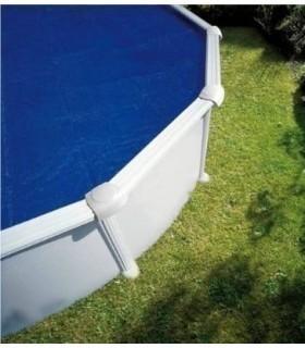 Cubierta piscina redonda GRE de verano (isotérmica)