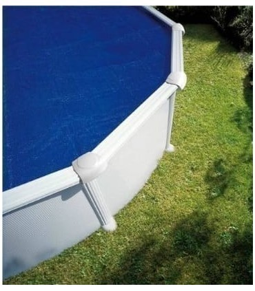 Cubierta piscina GRE ovalada de verano (isotérmica)