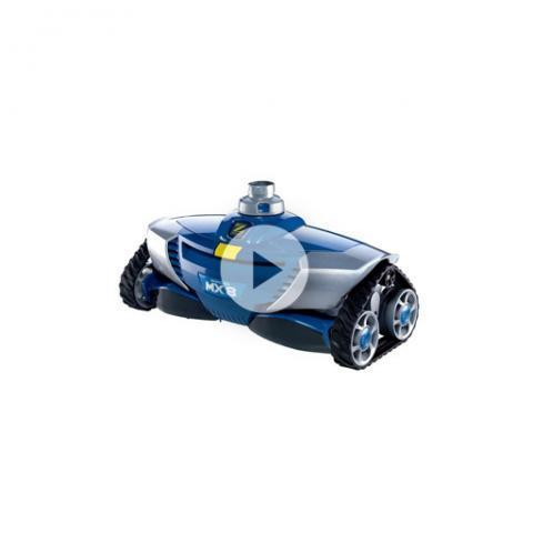 Robot limpiafondos hidráulico Zodiac MX8