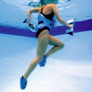 Movimiento aqua jogging