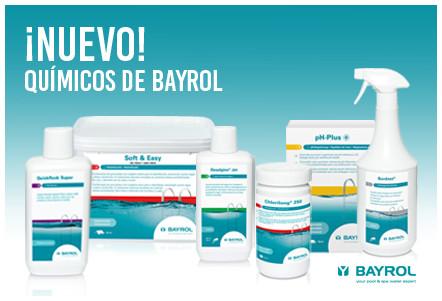 Nueva gamma productos químicos BAYROL