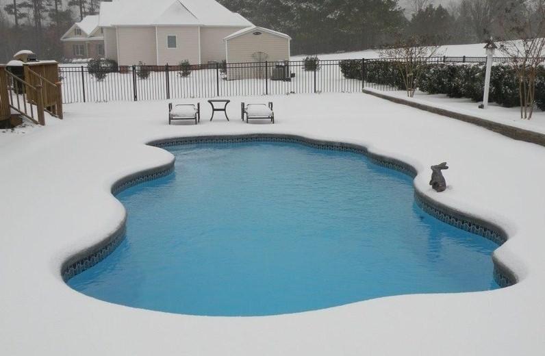hibernación piscina