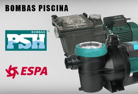 Bombas piscina ESPA y PSH