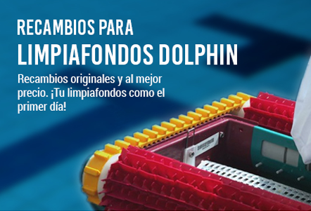 Recambios limpiafondos Dolphin