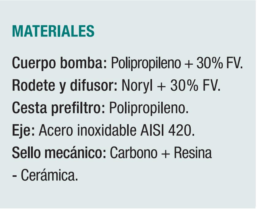 Materiales PSH MICRO